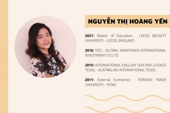 Cô Nguyễn Thị Hoàng Yến